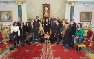 Η Διεπιστημονική Ομάδα του Ε.Μ.Π. στο Πατριαρχείο Ιεροσολύμων