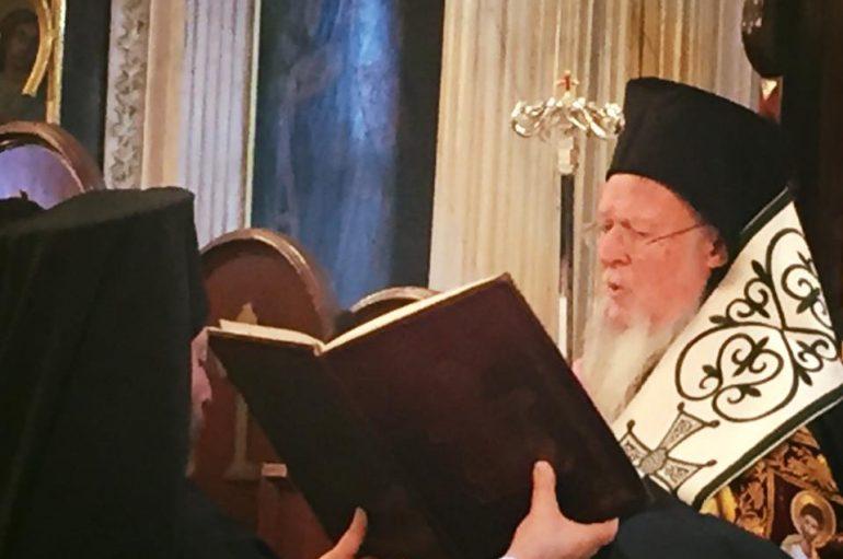 Ο Οικουμενικός Πατριάρχης στην Ι. Μ. Χαλκηδόνος (ΦΩΤΟ)