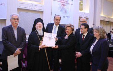 Οι νέοι της Ομογένειας τίμησαν τον Οικουμενικό Πατριάρχη (ΦΩΤΟ)