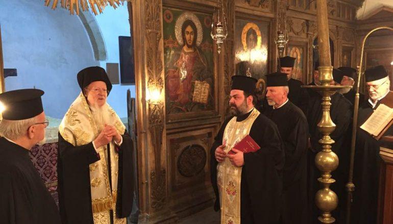 Ο Οικουμενικός Πατριάρχης στην Ίμβρο (ΦΩΤΟ)
