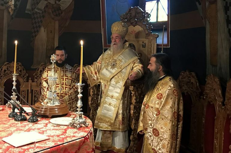 Κυριακή ΙΒ Λουκά στον Άγιο Νικόλαο Ελευθερουπόλεως (ΦΩΤΟ-ΒΙΝΤΕΟ)