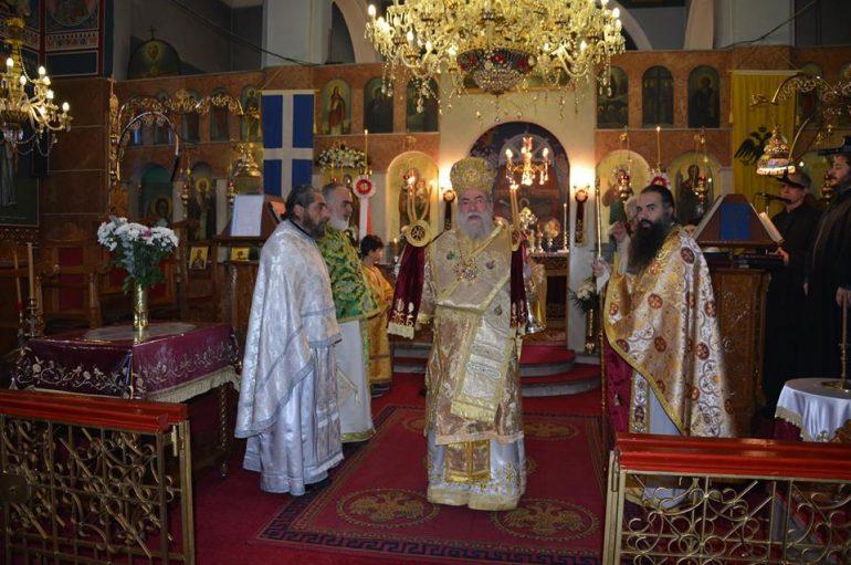 Η Εορτή του Αγίου Ευγενίου του Τραπεζουντίου στο Χορτοκόπι Παγγαίου (ΦΩΤΟ)