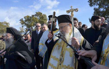 Η εορτή των Θεοφανείων στην Ιερά Πόλη του Μεσολογγίου (ΦΩΤΟ)