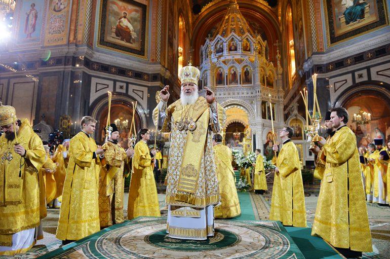 Λαμπρός ο εορτασμός των Χριστουγέννων στο Πατριαρχείο Ρωσίας (ΦΩΤΟ)