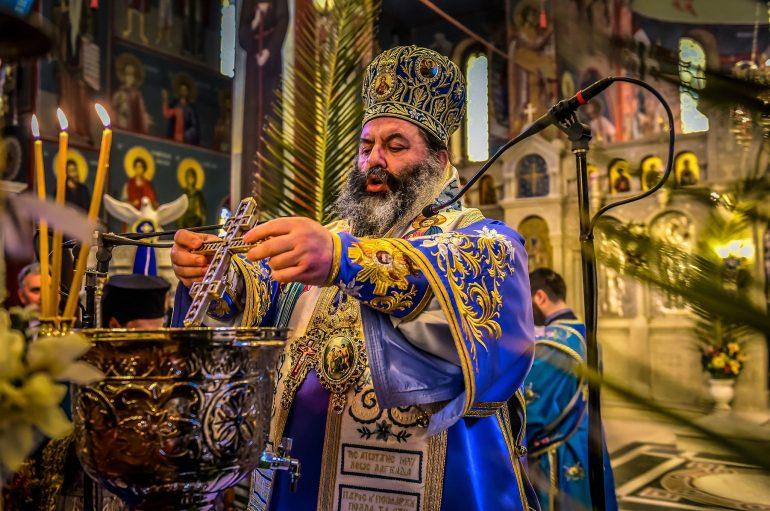 Η Μεγάλη Δεσποτική Εορτή των Θεοφανείων στην Ι. Μ. Λαγκαδά (ΦΩΤΟ)