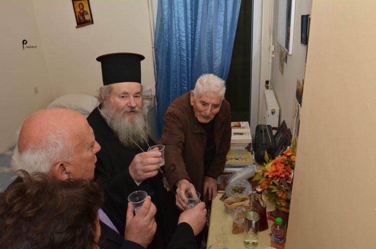 """Κυδωνίας Δαμασκηνός: """"Στους ηλικιωμένους χρωστάμε πολλά"""" (ΦΩΤΟ)"""