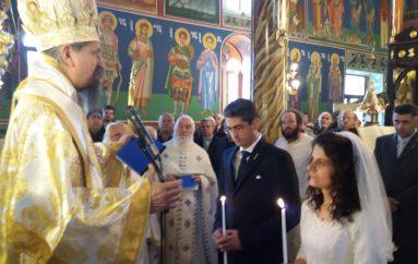 Γάμο στη Θ. Λειτουργία και χειροθεσία Αρχιμανδρίτη από τον Μητροπολίτη Καρπενησίου (ΦΩΤΟ)