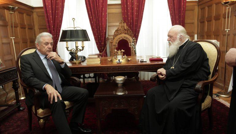 Το φιλανθρωπικό έργο της Εκκλησίας εξήρε ο Αβραμόπουλος (ΦΩΤΟ)