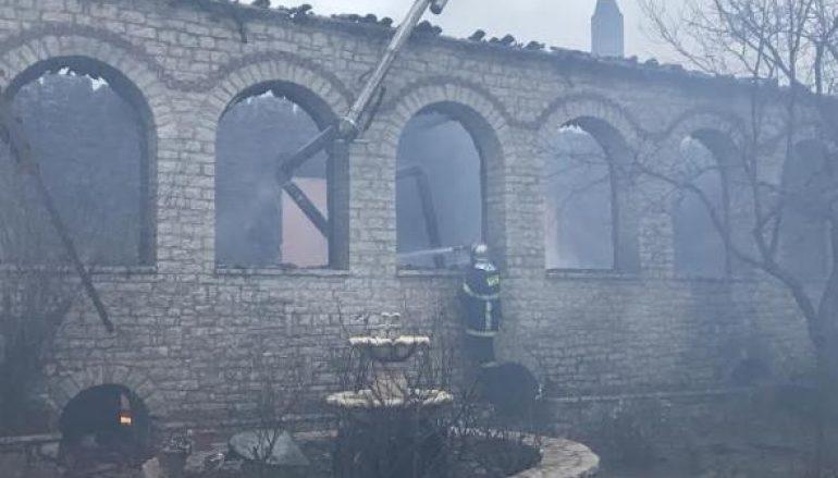 Μπακογιάννης: «Προχωρά η καταγραφή των ζημιών από την πυρκαγιά στην Βαρνάκοβα»