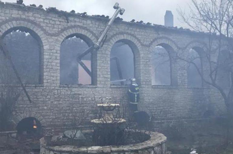 """Μπακογιάννης: """"Προχωρά η καταγραφή των ζημιών από την πυρκαγιά στην Βαρνάκοβα"""""""