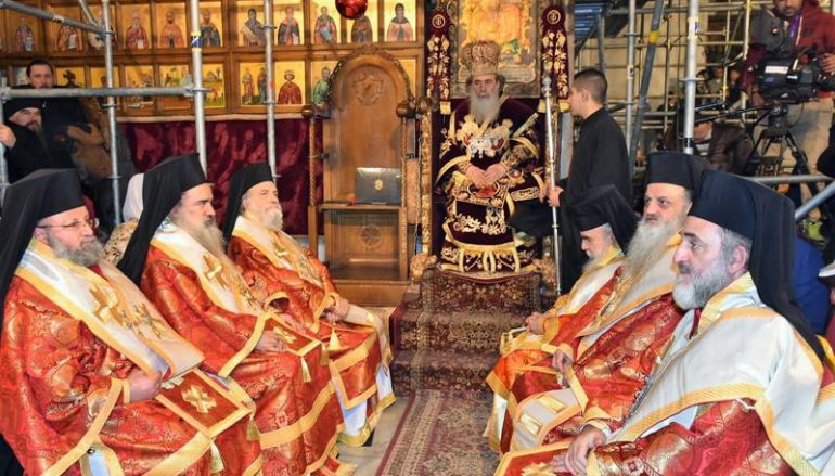 Η εορτή των Χριστουγέννων στο Πατριαρχείο Ιεροσολύμων (ΦΩΤΟ)