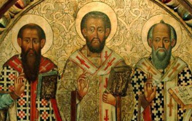 Η Ιερά Σύνοδος για την εορτή των Τριών Ιεραρχών
