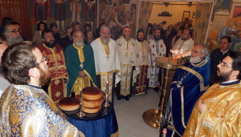 Η εορτή της Αγίας Θωμαΐδος της εκ Λέσβου (ΦΩΤΟ)