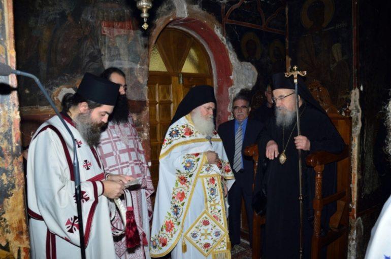 Λήξη Διημερίδας για τον Άγιο Κάλλιστο και την Ι. Μονή Καταφυγίου (ΦΩΤΟ)