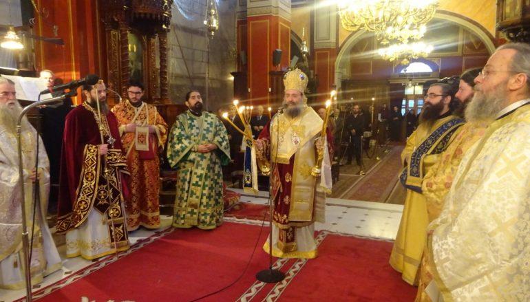 Εορτασμός της Μνήμης του Αγίου Παύλου του Πατρέως (ΦΩΤΟ)