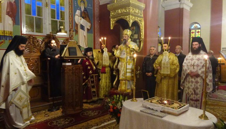 Η εορτή των Αγίων Ευθυμίου και Ζαχαρίου του εν Πάτραις στην Ι. Μ. Πατρών (ΦΩΤΟ)