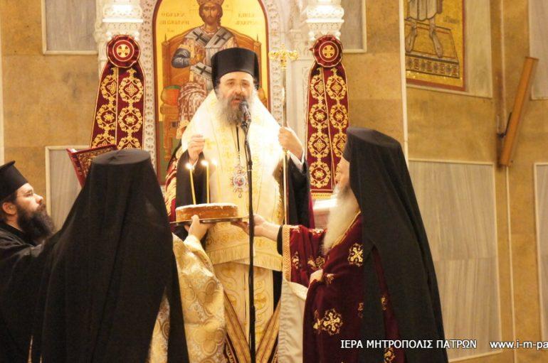 Εσπερινός επί τη 37η επέτειο της επανακομιδής του Σταυρού του Αγίου Ανδρέα στην Πάτρα (ΦΩΤΟ)