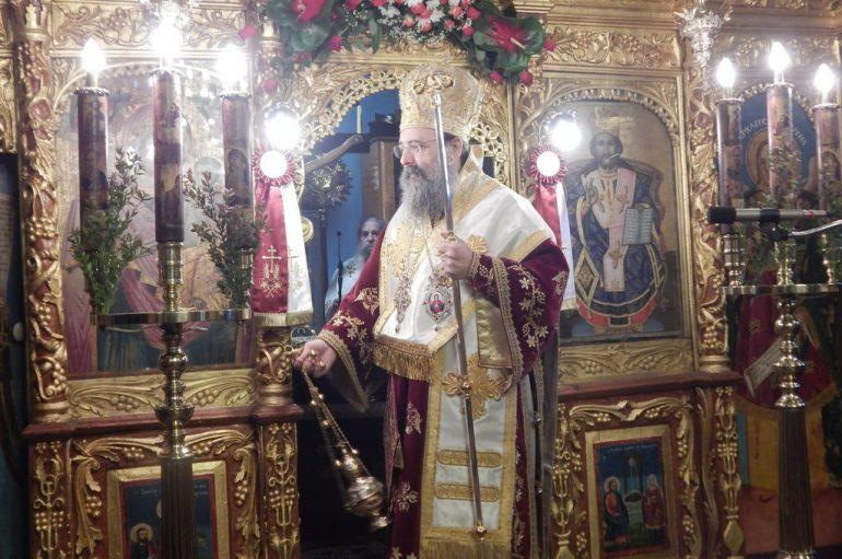 Η εορτή του Αγίου Αθανασίουτου Μεγάλου στην Ι. Μ. Πατρών (ΦΩΤΟ)