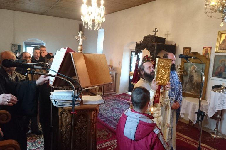 Η εορτή του Αγίου Ευθυμίου στην Κωνωπίνα  Ξηρομέρου (ΦΩΤΟ)