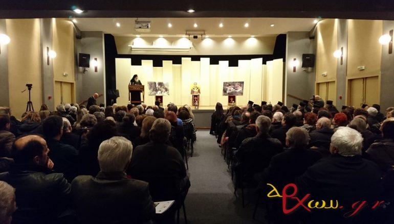 Ο Ηγούμενος Εφραίμ για τον Αγ. Κάλλιστο Καταφυγιώτη στην Ι. Μ. Αιτωλίας (ΦΩΤΟ)