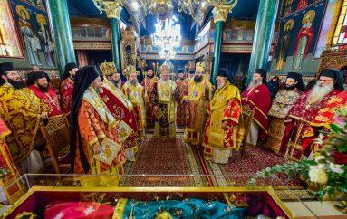 Πολυαρχιερατικό Συλλείτουργο επί τη εορτή της Αγίας Κυράννης (ΦΩΤΟ)