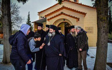 Επίσκεψη μαθητών Γυμνασίου της Θεσσαλονίκης στην Ι. Μ. Λαγκαδά (ΦΩΤΟ)
