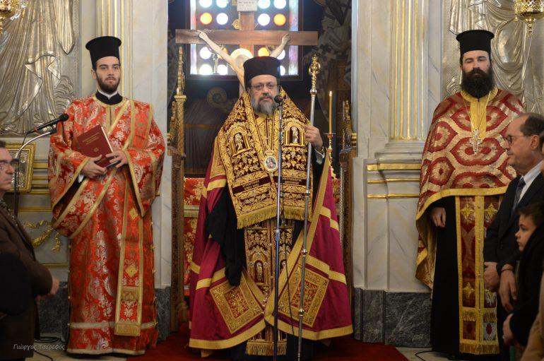Πρωτοχρονιά στην Ιερά Μητρόπολη Μεσσηνίας (ΦΩΤΟ – ΒΙΝΤΕΟ)
