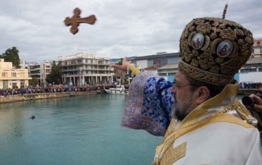 Λαμπρός ο ερτασμός των Θεοφανείων στην Καλαμάτα (ΦΩΤΟ – ΒΙΝΤΕΟ)