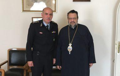 Στον Μητροπολίτη Μεσσηνίας ο νέος Διευθυντής Αστυνομίας του Νομού (ΦΩΤΟ)
