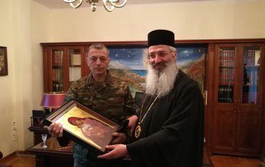 Ο νέος Αρχηγός ΓΕΣ στον Μητροπολίτη Αλεξανδρουπόλεως