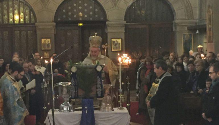 Ο εορτασμός των Θεοφανείων στο Παρίσι (ΦΩΤΟ)