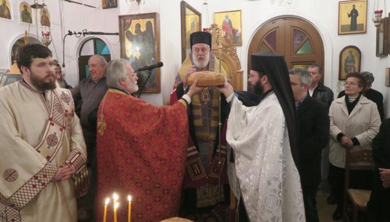 Αρχιερατικός Εσπερινός του Αγίου Αντωνίου στην Ι. Μ. Σύρου (ΦΩΤΟ)