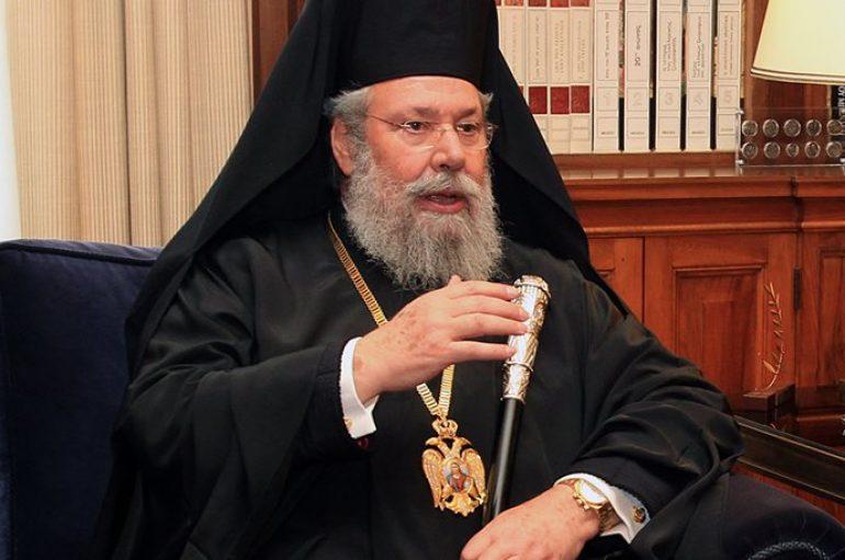 """Αρχιεπίσκοπος Κύπρου: """"Δεν είναι καλό το timing για λύση στο Κυπριακό"""""""