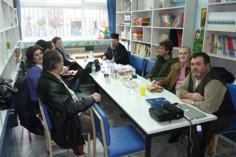 Συνάντηση του Μητροπολίτη Θεσσαλιώτιδος με τον Σχολικό Σύμβουλο Καρδίτσας (ΦΩΤΟ)
