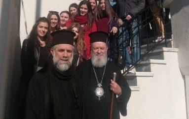 Συνάντηση του Μητροπολίτη Χαλκίδος με πρωτοετείς φοιτητές (ΦΩΤΟ)
