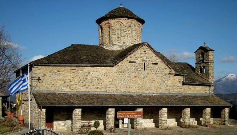 Ιερόσυλοι λεηλάτησαν την εκκλησία στο Μολυβδοσκέπαστο