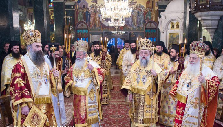Πανηγύρισε ο Άγιος Αντώνιος Πολιούχος της Βέροιας (ΦΩΤΟ)