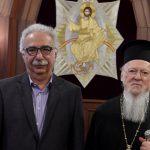Συνάντηση του Υπουργού Παιδείας με τον Οικουμενικό Πατριάρχη (ΦΩΤΟ)
