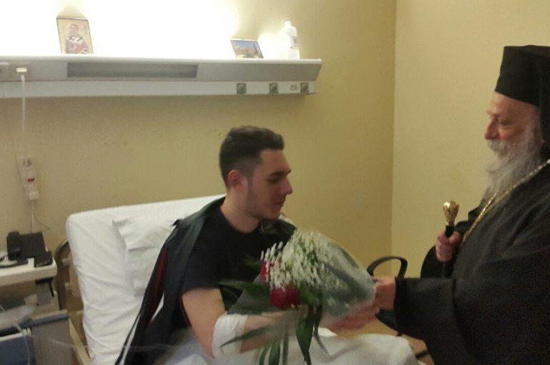 Επίσκεψη του Μητροπολίτη Γρεβενών στο Νοσοκομείο και το Γηροκομείο της πόλης (ΦΩΤΟ)