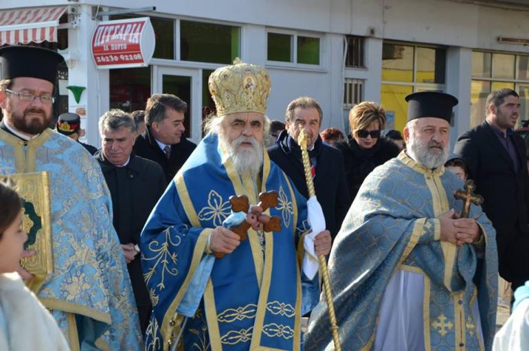Με λαμπρότητα τα Θεοφάνεια στην Κυλλήνη (ΦΩΤΟ)