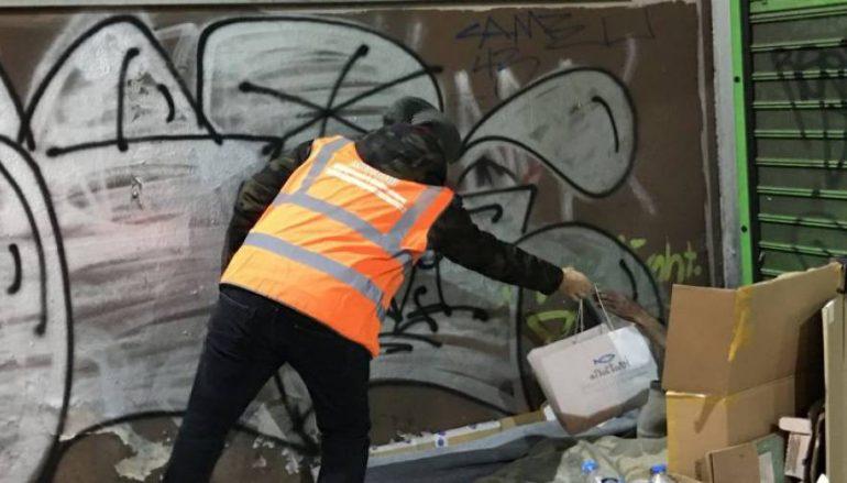 Η «Αποστολή» πρόσφερε τρόφιμα και ρουχισμό στους αστέγους της Αθήνας (ΦΩΤΟ)