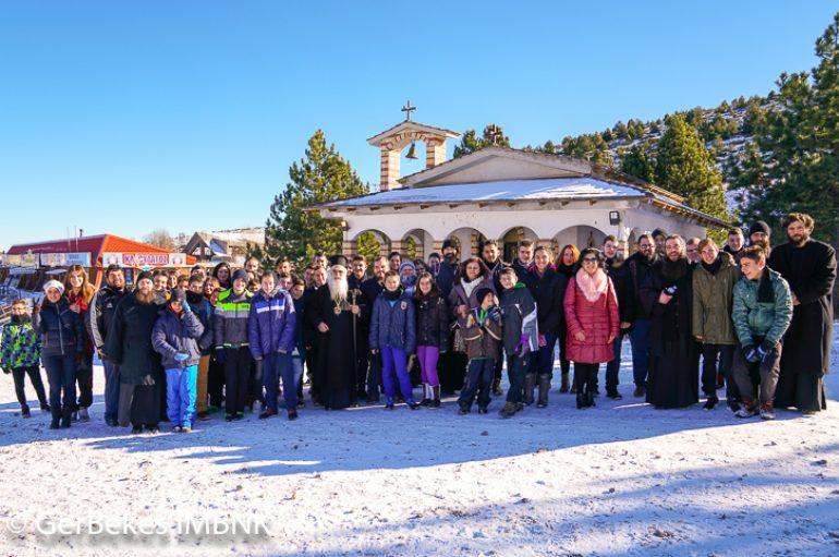 Πανηγύρισε ο Ι. Ναός Αγίου Σεραφείμ Σαρώφ στο Χιονοδρομικό Κέντρο Σελίου (ΦΩΤΟ)