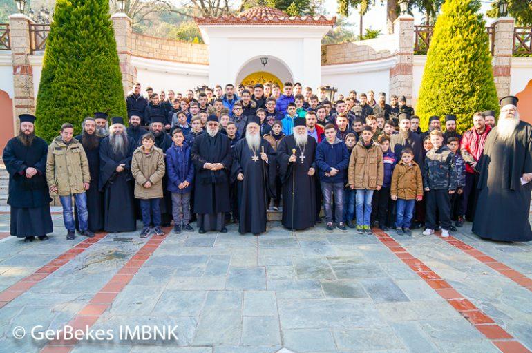 Σύναξη ιεροπαίδων και Αναγνωστών της Ι. Μ. Βεροίας (ΦΩΤΟ)