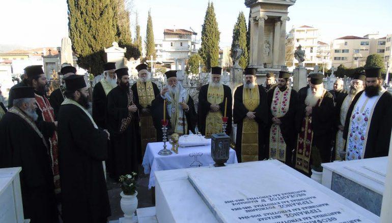 Ο Μητροπολίτης Μαντινείας τέλεσε Τρισάγιο για τους προκατόχους του Αρχιερείς (ΦΩΤΟ)