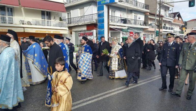 Ο εορτασμός των Θεοφανείων στην Ι. Μ. Γρεβενών (ΦΩΤΟ)
