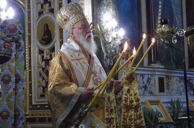 Ο Μητροπολίτης Μαντινείας τέλεσε μνημόσυνο του Θεόδωρου Κολοκοτρώνη (ΦΩΤΟ)