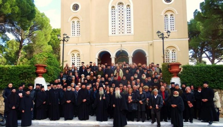Κληρικολαϊκή σύναξη στη Σπάρτη (ΦΩΤΟ)