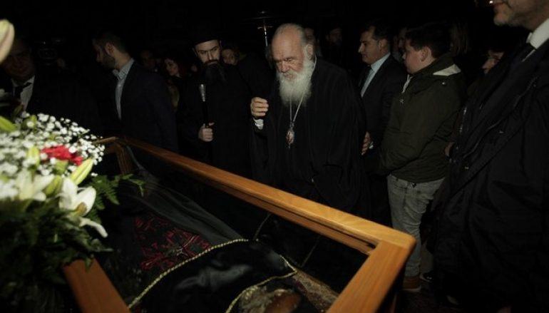 Αρχιεπίσκοπος Αθηνών: «Ο Άγιος Λουκάς να είναι ο οδηγός μας, ο καθρέφτης μας» (ΦΩΤΟ)