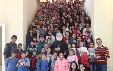 Χριστιανόπουλα της Αιγύπτου επισκέφθηκαν τον Αλεξανδρινό Προκαθήμενο (ΦΩΤΟ)