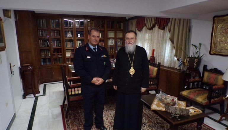 Στον Μητροπολίτη Κορίνθου ο νέος Αστυνομικός Δ/ντης Πελοποννήσου (ΦΩΤΟ)